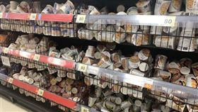 為何日本超市商品故意擺不整齊(圖/翻攝自推特)
