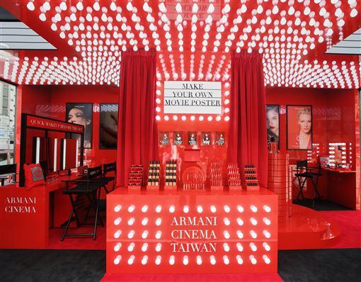 Armani先生與米蘭團隊親自設計名為【ARMANI CINEMA亞曼尼女主角活動】(品牌提供)