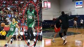 NBA/看傻!7呎5的他秀華麗運球 NBA,波士頓塞爾提克,Tacko Fall,身高,全明星 翻攝自Tacko Fall IG