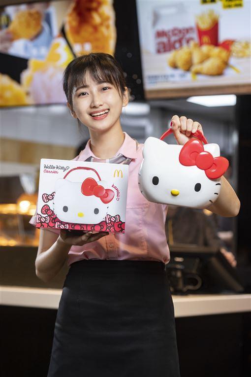 麥當勞,無嘴貓置物籃,Hello Kitty