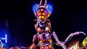 ▲「2020台灣燈會-科技展演燈區」(圖/觀光局提供)