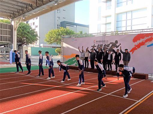 ▲國訓中心直線風雨跑道正式啟用。(圖/國訓中心提供)