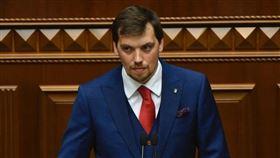 烏克蘭總理洪查魯克(圖)請辭,因為曝光的錄音檔顯示,他批評澤倫斯基總統根本不懂經濟。(圖取自facebook.com/aleksey.goncharuk)