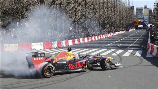 ▲2019年3月在東京舉行的F1 SHOWRUN。(圖/美聯社/達志影像)