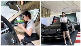 越南,業務,BMW,Lý Huỳnh Thanh Thảo,美女(圖/翻攝自IG)