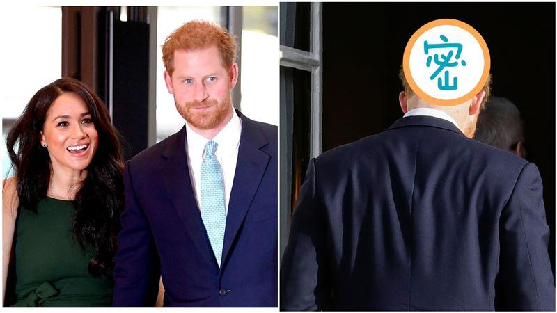 退王室壓力太大?哈利王子「禿頭照」曝…50歲恐比威廉慘