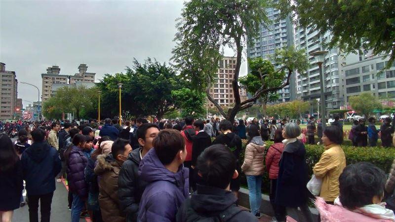 館長感謝祭開跑 人群擠爆蘆洲公園