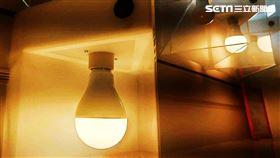 燈泡。(圖/記者陳韋帆攝影)