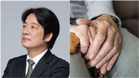 準副總統賴清德,分享台南家鄉三位長輩們,等到開完票、得知結果出爐後才安然辭世。(組圖/翻攝自賴清德臉書 翻攝自Pixabay)