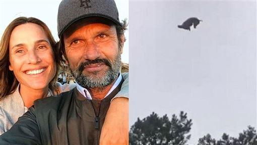 死豬,富豪,直升機,Federico Alvarez Castillo,泳池,惡作劇,轟炸,變態,炫富, 圖/翻攝自YouTube