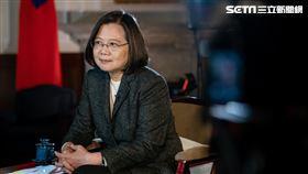 蔡英文接受「英國廣播公司」(BBC)專訪 (圖/總統府提供)
