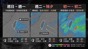 台灣颱風論壇 臉書講述過年天氣概況