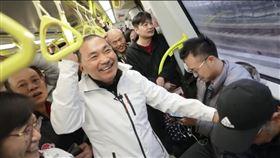 新北市長侯友宜視察環狀線(圖/新北市府提供)