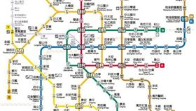 最新版2020台北捷運圖來了!環狀線橫跨4個高運量線(圖/翻攝台北捷運臉書)