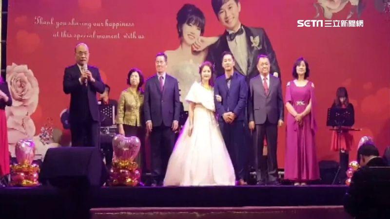 24年前小助選員當新娘!蘇貞昌主婚