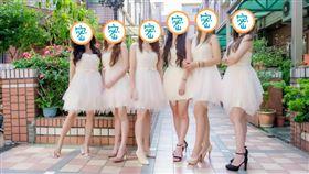 伴娘,顏值,美腿,香肩,婚禮(翻攝自爆廢公社二館)