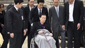 樂天集團創始人辛格浩昨天下午在首爾病逝,享耆壽98歲。(圖/美聯社/達志影像)