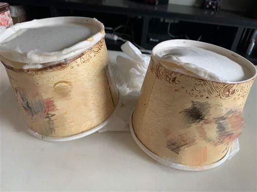 外送,紙碗,破洞,推託,烏龍麵(圖/翻攝自抱怨公社)