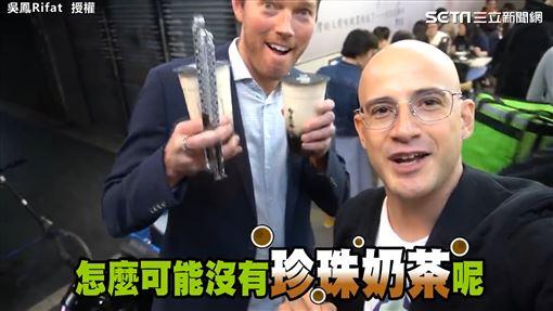台灣女婿吳鳳推夜市小吃 美國CEO初嚐豬肝大讚好呷