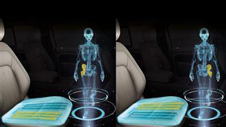 JLR研發黑科技 開車久坐也能運動