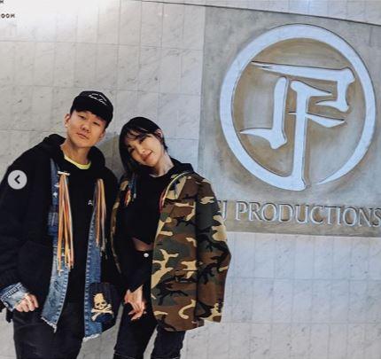 林俊傑、Tiffany(翻攝自IG)