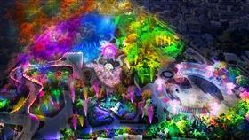 2020台灣燈會在台中 中央燈區首創5感體驗2020台灣燈會在台中,將自109年2月8日起在台中后里登場,交通部觀光局30日介紹中央燈區,以「森林奇幻境地」為主題,首創5感體驗,更首度開放遊客可以穿越主燈,進行互動體驗。(觀光局提供)中央社記者汪淑芬傳真 108年12月30日