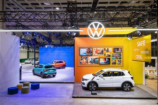 ▲2020台北車展Volkswagen展廠(圖/Volkswagen提供)