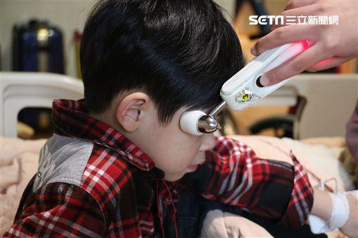 感冒,發燒,小朋友圖/台中慈院提供
