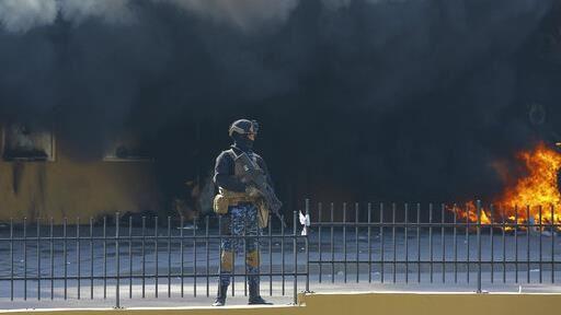 伊拉克又被射!美國駐巴格達使館特區 遭3枚火箭炮攻擊
