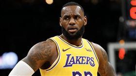 NBA/詹皇震怒!兒子竟遭觀眾攻擊 NBA,洛杉磯湖人,LeBron James,Bronny James 翻攝自推特