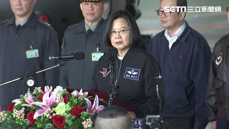 蔡英文:守護中華民國不只是國軍的事