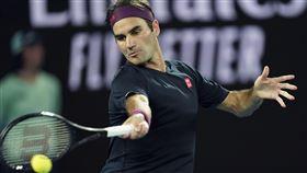 ▲費德勒(Roger Federer)澳網首輪輕鬆晉級。(圖/美聯社/達志影像)