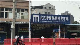 中國,武漢,肺炎,華南海鮮市場