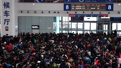 中國,春運(圖/翻攝自微博)