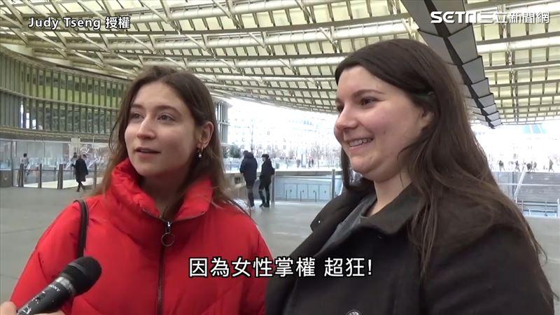 蔡英文連任外國人大讚 女性掌權好狂