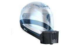▲BluSnap外掛式安全帽降溫器。(圖/翻攝BluSnap網站)