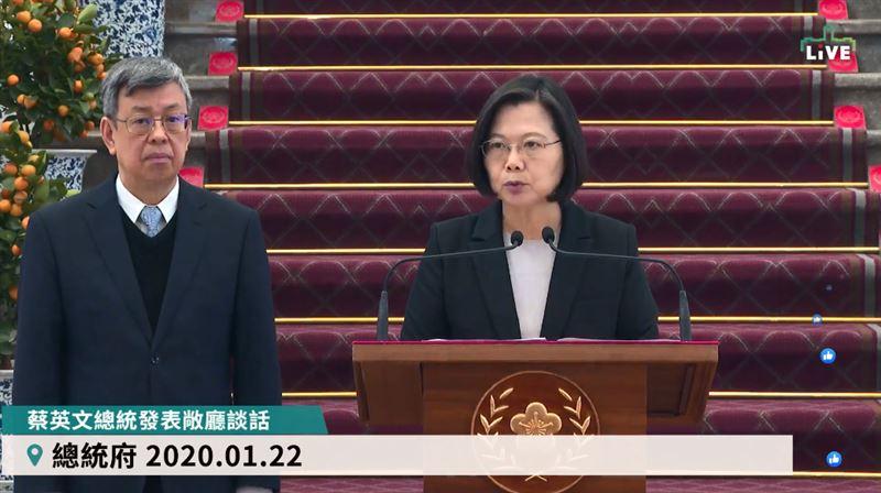 蔡英文宣布:暫停武漢旅遊團來台