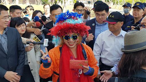 韓國瑜,紅包,激動姐,高雄