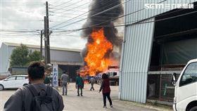 工廠,火警,送醫,桃園,翻攝臉書