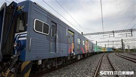 動物彩繪列車(新竹市府提供)