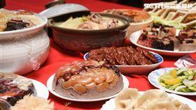 年菜,年夜飯,過年,年貨,市場,採買,農曆年 圖/記者林敬旻攝