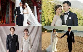 婚紗整理/林志玲和AKIRA、夏于喬與導演男友林書宇、網紅HowHow和歌手鄧福如