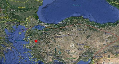 土耳其地震。(圖/翻攝自推特)