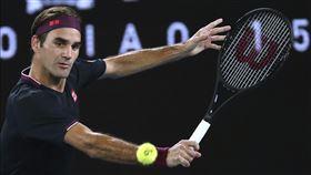 ▲費德勒(Roger Federer)直落三晉級澳網32強。(圖/美聯社/達志影像)