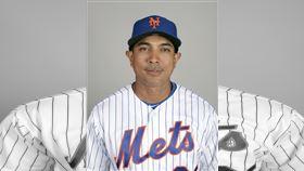 ▲大都會新任總教練洛哈斯(Luis Rojas)。(圖/美聯社/達志影像)