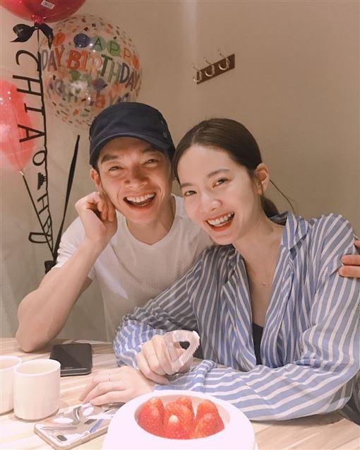 「今天起我是陳太太」辰亦儒結婚曾之喬  圖翻攝自辰亦儒IG