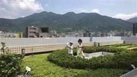 公私合力打造綠屋頂,綠能新生活均屬(金鼠)於你(圖/台北市政府)