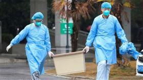 16:9 中國疫情升溫 武漢肺炎死亡增至6例(圖/翻攝自微博)