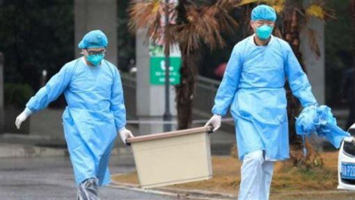 16:9中國疫情升溫 武漢肺炎死亡增至6例(圖/翻攝自微博)