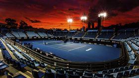 ▲澳網會場墨爾本球場(Melbourne Park)。(圖/美聯社/達志影像)